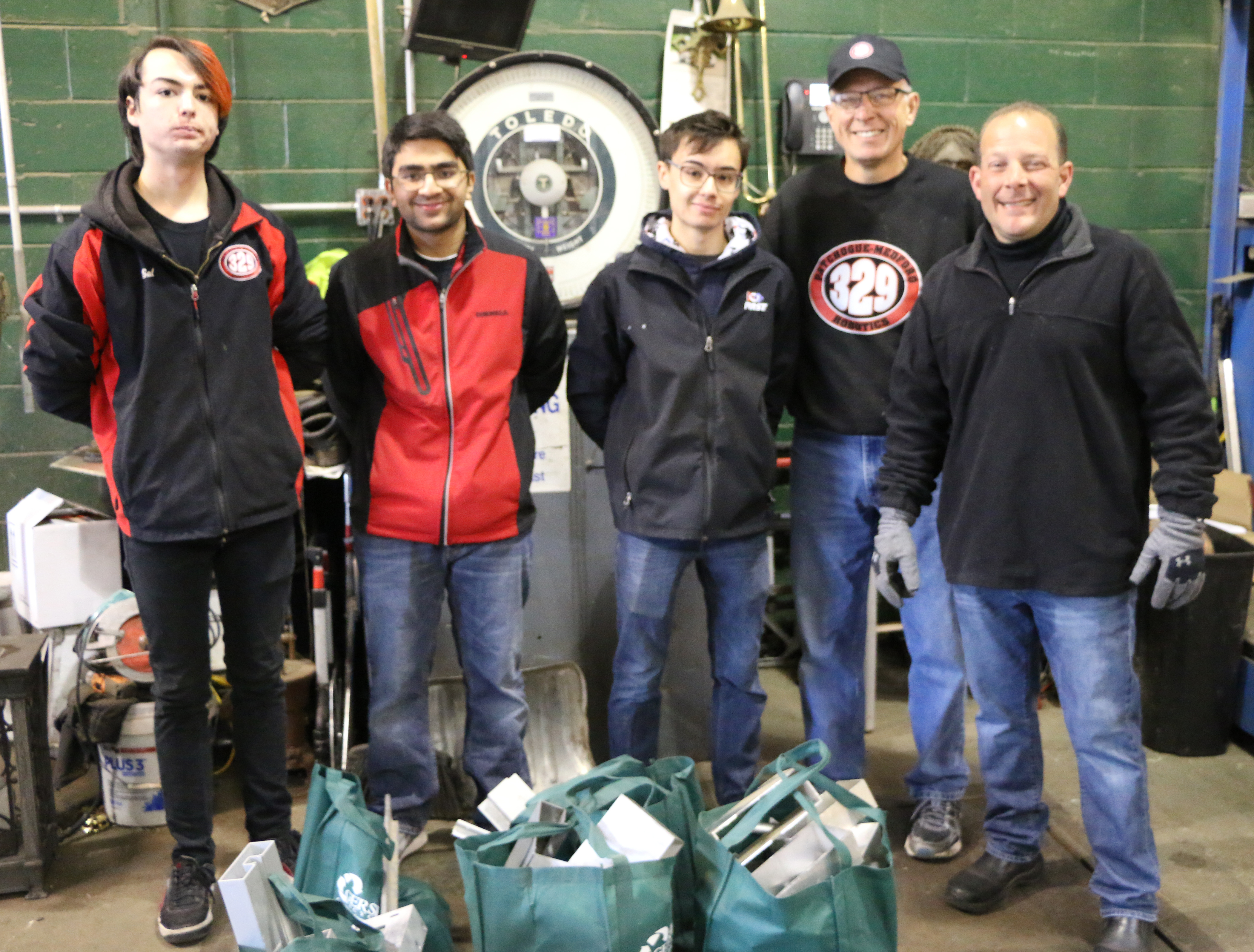 , Nearly One Ton of Aluminum Scrap Is Donated to 16 Local FIRST® Robotics Competition Teams