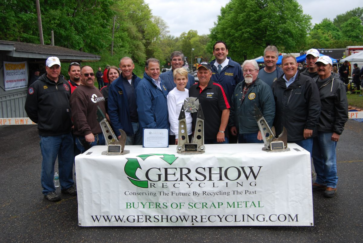 , Gershow Recycling Donates the Use of 30 Cars for the Eleventh Annual Chuck Varese Vehicle Extrication Tournament