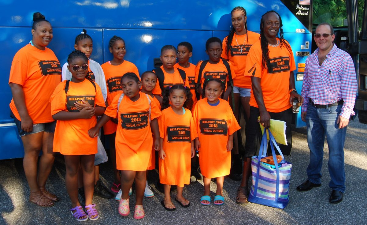 , Gershow Recycling Sponsors Day Trip to Dorney Park & Wildwater Kingdom for Over 30 Children and Teenagers from the Bellport Area