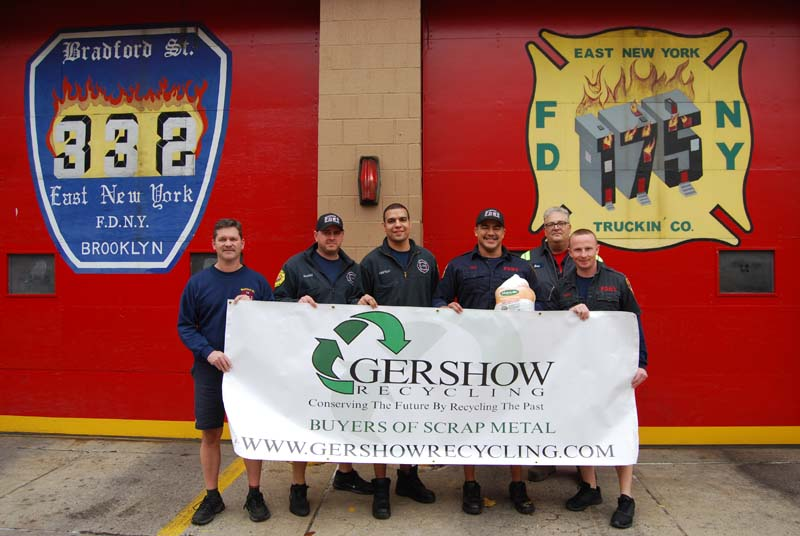 , Gershow Recycling Purchases 50 Turkeys That Were Distributed to Families in Need