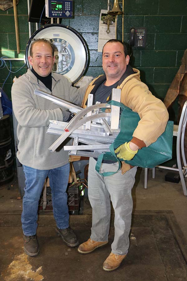 , Gershow Recycling Donates More than 1,100 Pounds of Aluminum Scrap to Seven Long Island High School Robotics Teams