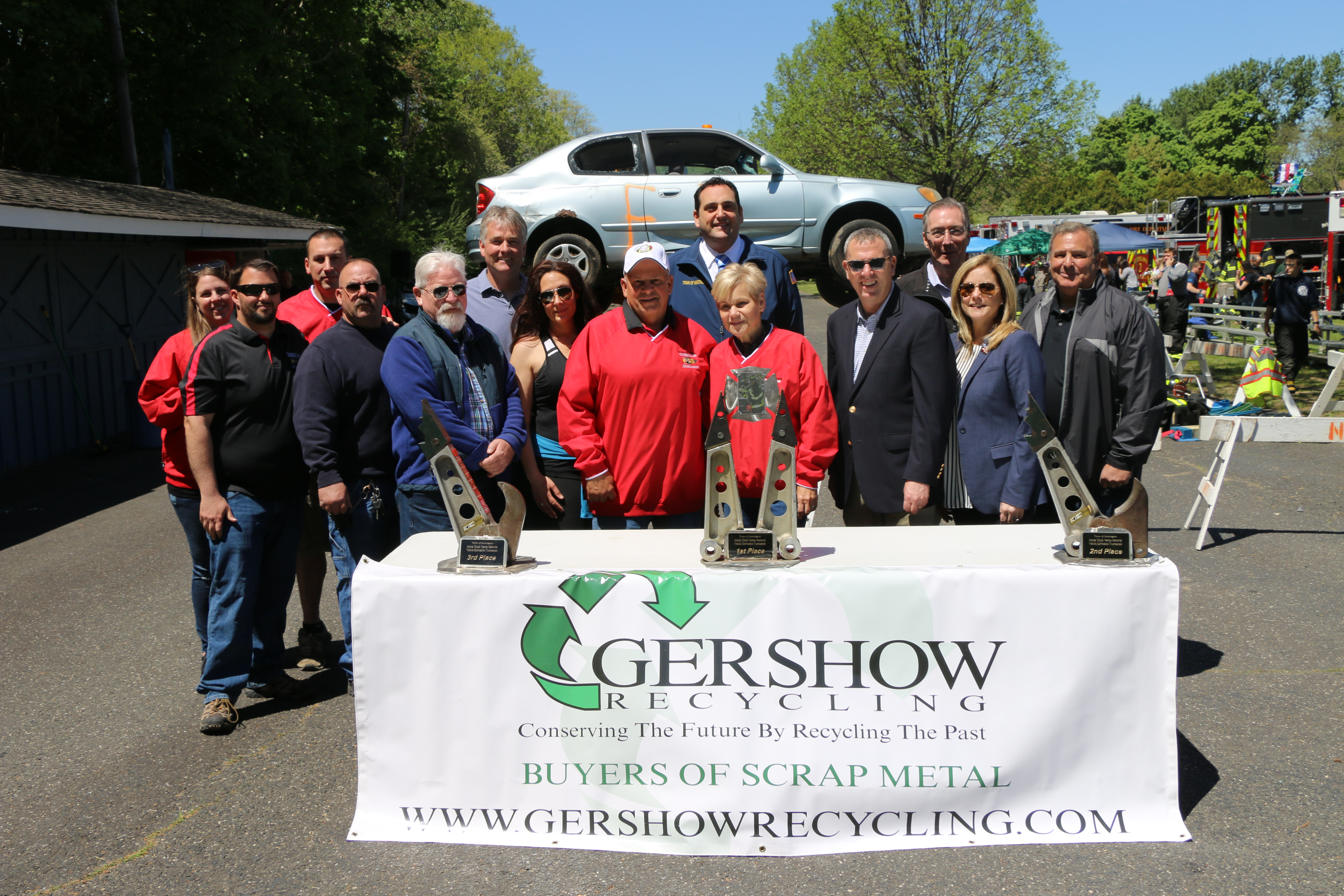 , Gershow Recycling Donates the Use of 30 Cars for the Twelfth Annual Chuck Varese Vehicle Extrication Tournament